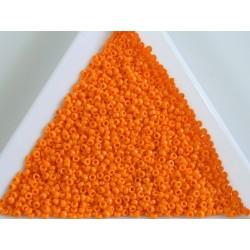 MR15-405 margele Miyuki 15/0 - Opaque Tangerine, 5g