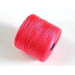 S-Lon BC Bright Coral, 0.5mm, bobina cca 77yd/70m