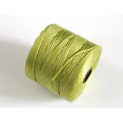 S-Lon BC Chartreuse, 0.5mm, bobina cca 77yd/70m