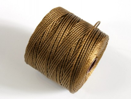 S-Lon BC Dark Tan, 0.5mm, bobina cca 77yd/70m