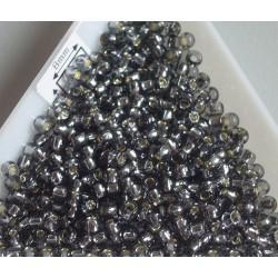 Toho R8-29, Silver-Lined Black Diamond, 10g