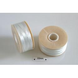 Nymo D white | alb, bobina 58.5m