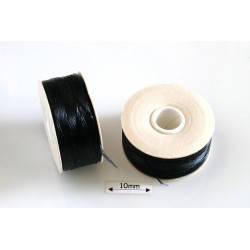Nymo B black | negru, bobina 65.8m