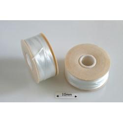Nymo B white | alb, bobina 65.8m