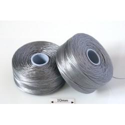 S-lon D grey | gri, fir nylon monocord, bobina 71m