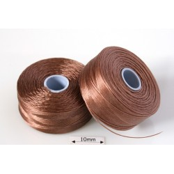 S-lon D lt copper | cupru deschis, fir nylon monocord, bobina 71m