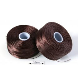 S-lon D brown | maro, fir nylon monocord, bobina 71m