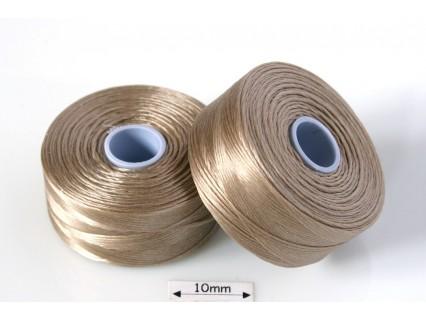 S-lon D lt brown | maro deschis, fir nylon monocord, bobina 71m