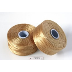 S-lon D tan | cafeniu, fir nylon monocord, bobina 71m