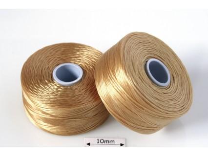 S-lon D tan | cafeniu , fir nylon monocord, bobina 71m