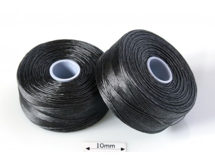 S-lon D charocoal grey | gri carbune , fir nylon monocord, bobina 71m