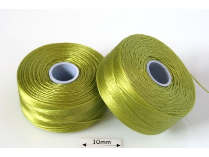 S-lon D chartreuse | verde-galbui, fir nylon monocord, bobina 71m