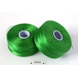 S-lon D green| verde, fir nylon monocord, bobina 71m