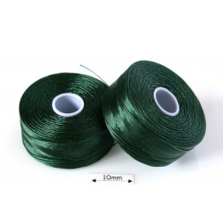 S-lon D dark green| verde inchis, fir nylon monocord, bobina 71m