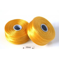 S-lon D golden yellow | galben auriu, fir nylon monocord, bobina 71m