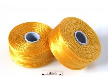 S-lon D golden yellow   galben auriu, fir nylon monocord, bobina 71m