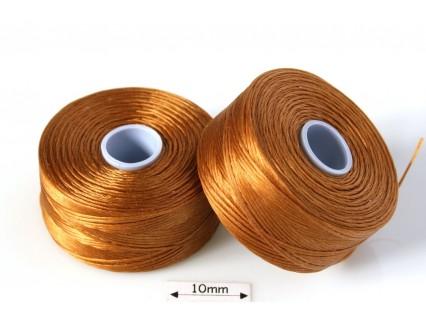 S-lon D gold | auriu, fir nylon monocord, bobina 71m