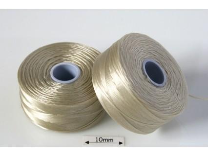 S-lon D dk cream   crem inchis, fir nylon monocord, bobina 71m