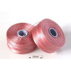 S-lon D rose | roz trandafiriu, fir nylon monocord, bobina 71m