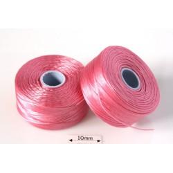 S-lon D pink | roz, fir nylon monocord, bobina 71m