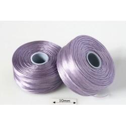 S-lon D lavender | lavanda, fir nylon monocord, bobina 71m