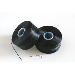 S-lon AA black | negru, fir nylon monocord, bobina 68m