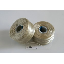 S-lon AA dk cream | crem inchis, fir nylon monocord, bobina 68m