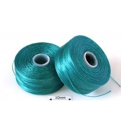 S-lon D teal| teal, fir nylon monocord, bobina 71m