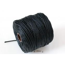 S-Lon Tex400 Black, 0.9mm, bobina cca 35yd/32m