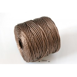 S-Lon Tex400 Chocolate, 0.9mm, bobina cca 35yd/32m