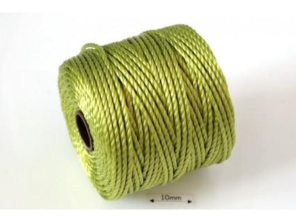 S-Lon Tex400 Chartreuse, 0.9mm, bobina cca 35yd/32m