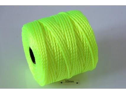 S-Lon Tex400 Neon Yellow, 0.9mm, bobina cca 35yd/32m