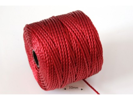 S-Lon Tex400 Shanghai Red, 0.9mm, bobina cca 35yd/32m
