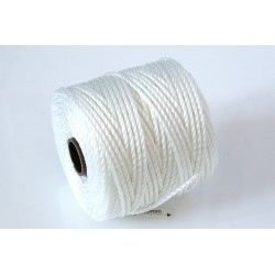 S-Lon Tex400 White, 0.9mm, bobina cca 35yd/32m