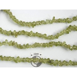 Chipsuri Peridot mini chips 2.5 - 4 mm (sirag cca 86 cm).