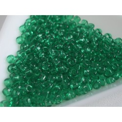 Toho R8-72, Transparent Beach Glass Green, 10g