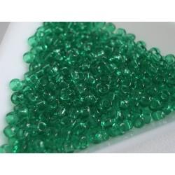 Toho R8-72, Transparent Beach Glass Green, 10g