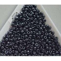 Toho R8-81, Metallic Hematite, 10g