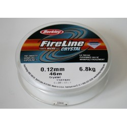 FireLine 0.12mm crystal, 6.8kg test ( bobina 45.7m )