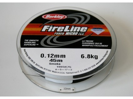 FireLine 0.12mm smoke, 6.8kg test ( bobina 45m )