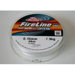 FireLine 0.15mm crystal, 7.9kg test ( bobina 46m )