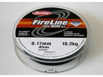 FireLine 0.17mm smoke, 10.2kg test ( bobina 45m )