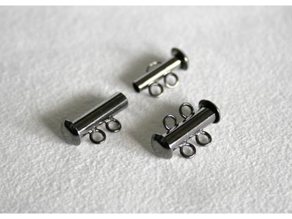 Slide clasp 2 strands - inchizatoare culisanta multi-sir (2 randuri) GMP, 1 buc.