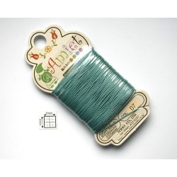 Toho Thread Amiet col07, Teal, 0.5mm x 20 metrii (1 bucata )