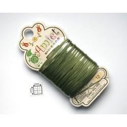 Toho Thread Amiet col12, Olive, 0.5mm x 20 metrii (1 bucata )