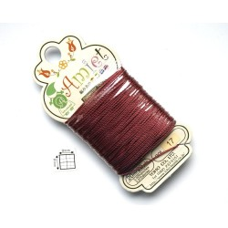 Toho Thread Amiet col17, Burgundy, 0.5mm x 20 metrii (1 bucata )