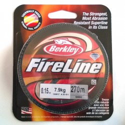 FireLine 0.15mm smoke, 7.9kg test ( bobina 270m )