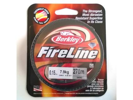 FireLine 0.15mm smoke, 7.9kg test ( bobina 270m )
