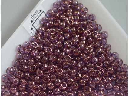 Toho R8-201, Gold-Lustered Amethyst, 10g