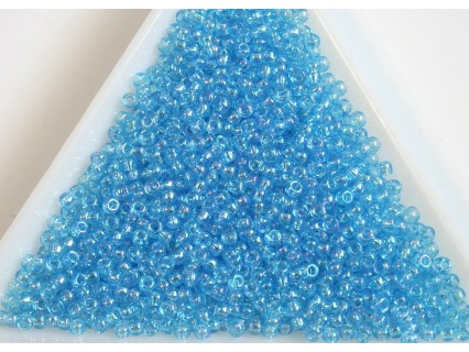 Toho R11-163, Transparent-Rainbow Aquamarine, 10g